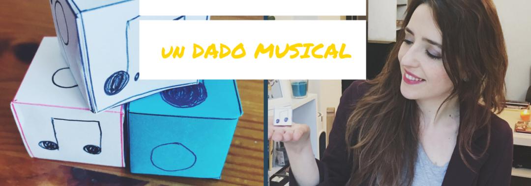 Cómo hacer un dado musical de papel
